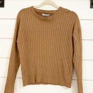 Mango long sleeve sweater ribbed